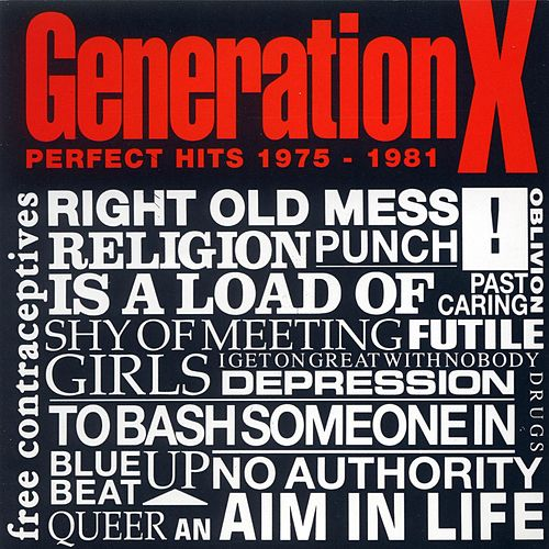 Perfect Hits (1975-1981) de Generation X