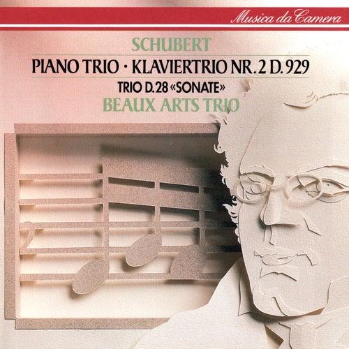 Schubert: Piano Trio No. 2; Piano Trio In One Movement by Beaux Arts Trio