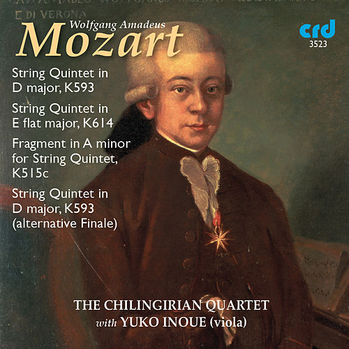 Mozart: String Quintets, K. 593 & K. 614 von Yuko Inoue