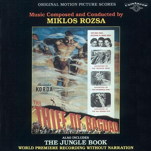 The Thief of Bagdad / The Jungle Book (Original Score) de Miklos Rozsa
