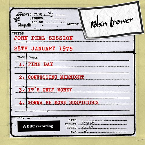 John Peel Session (28 January 1975) von Robin Trower