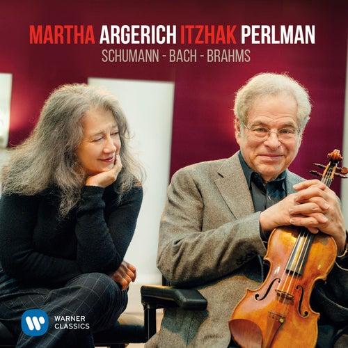 Perlman & Argerich play Schumann, Bach & Brahms de Itzhak Perlman