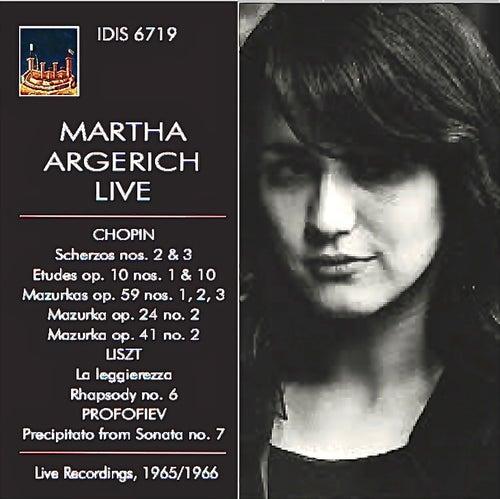 Chopin, Liszt & Profokiev: Piano Works (Live) von Martha Argerich