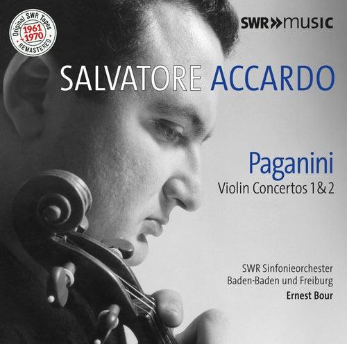 Paganini: Violin Concertos Nos. 1 & 2 de Salvatore Accardo
