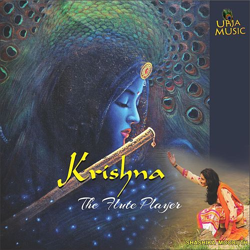 Krishna, The Flute Player by Shashika Mooruth