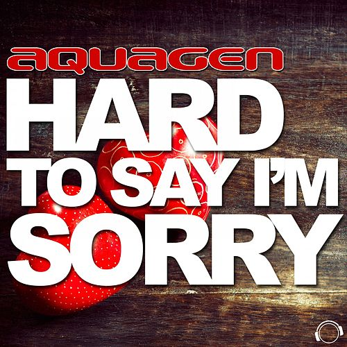 Hard to Say I'm Sorry by Aquagen