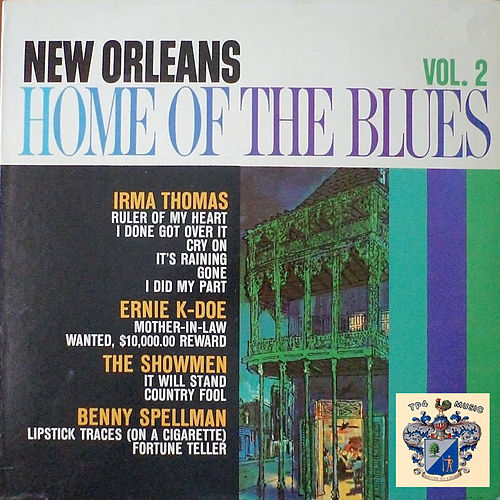 New Orleans, Home of the Blues Vol. 2 de Various Artists