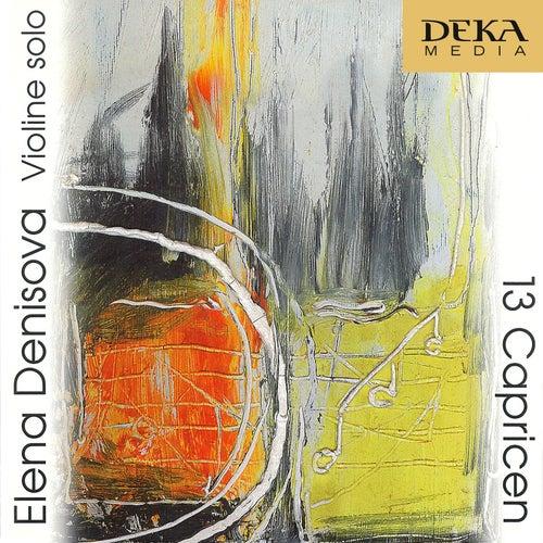 Elena Denisova: 13 Capricen - Hummel, Arzoumanov, Buckinx by Elena Denisova