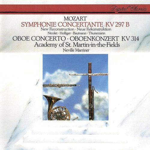 Mozart: Sinfonia Concertante; Oboe Concerto de Heinz Holliger