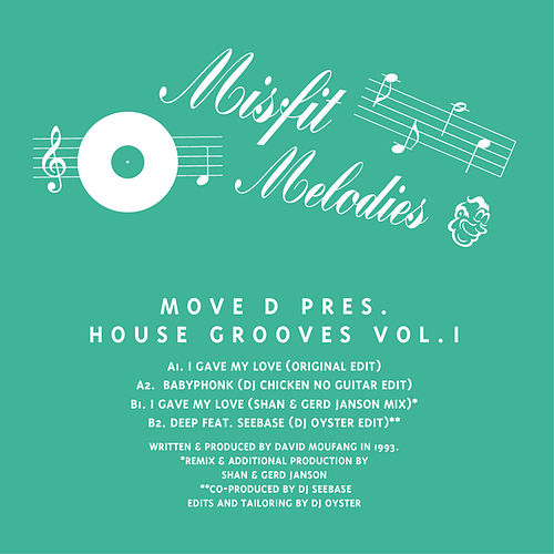 Move D Presents House Grooves Vol. 1 by Move D