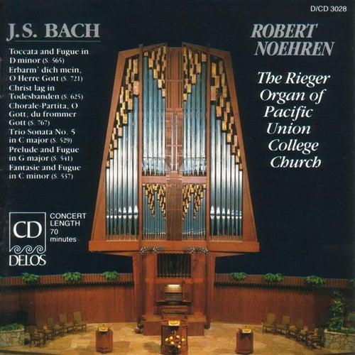 BACH, J.S.: Organ Music (The Rieger Organ of Pacific Union College Church) (Noehren) de Robert Noehren