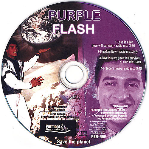 Save the Planet 1-Love Is Alive 2- Freedom Now by Purple Flash