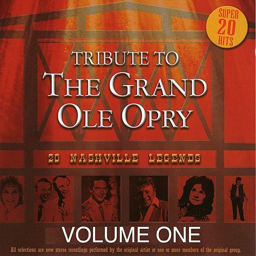 Tribute to the Grand Ole Opry - Vol. 1 by Various Artists