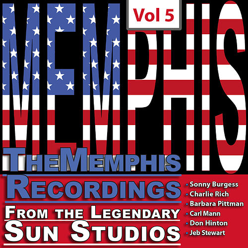 The Memphis Recordings from the Legendary Sun Studios 3, Vol. 5 by Various Artists