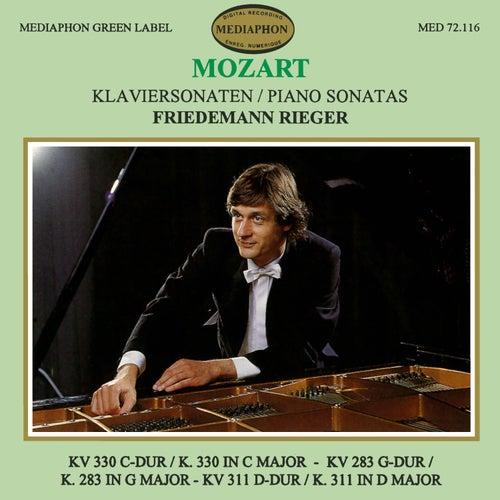 Mozart: Piano Sonatas K. 330, K. 283 & K. 311 de Friedemann Rieger