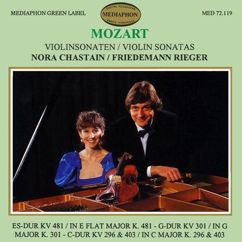 Mozart: Violin Sonatas Nos. 33, 30, 18 & 17 de Friedemann Rieger