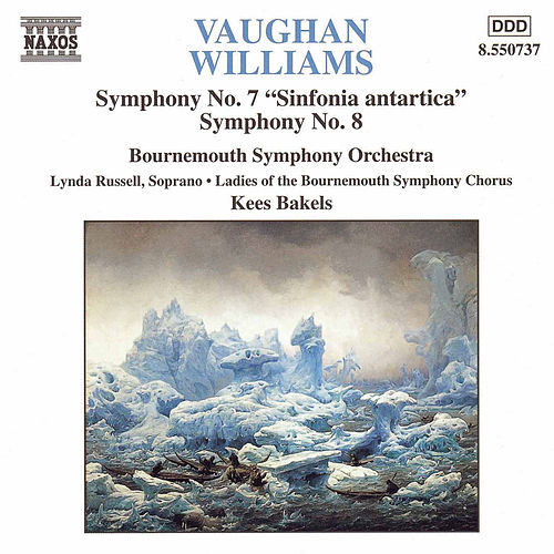 VAUGHAN WILLIAMS: Symphonies Nos. 7 and 8 by Bournemouth Symphony Orchestra