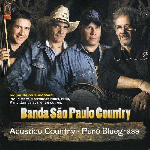 Acústico Country - Puro Bluegrass (Ao Vivo) von Banda São Paulo Country