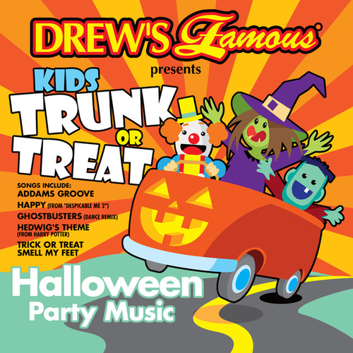 Kids Trunk Or Treat Halloween Party Music van The Hit Crew(1)