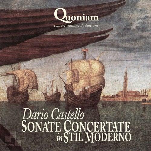 Dario Castello: Sonate Concertate in Stil Moderno di Quoniam