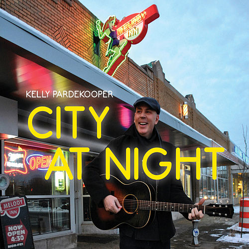 City at Night by Kelly Pardekooper