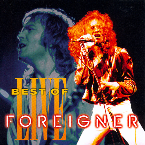Best Of Live de Foreigner