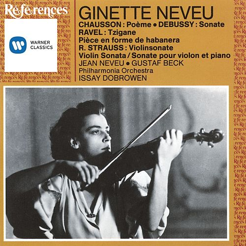 French & German Works for Violin von Ginette Neveu