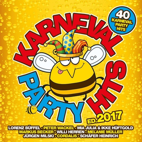 Karneval Party Hits 2017 von Various Artists