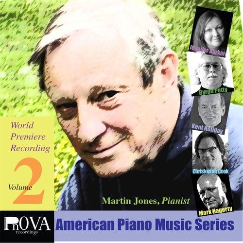 PnOVA American Piano Music Series, Vol. 2 by Martin Jones