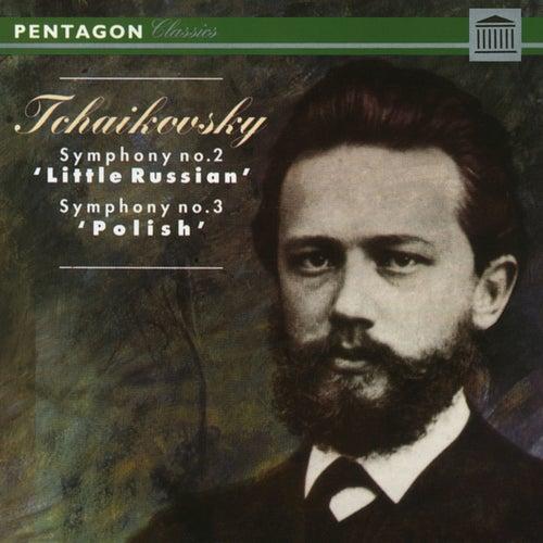 Tchaikovsky: Symphony No. 2 'Little Russian' - Symphony No. 3 'Polish' by Philharmonia Slavonica