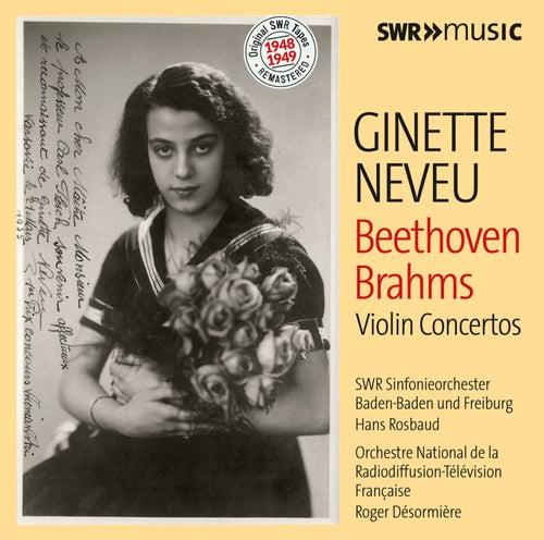 Beethoven & Brahms: Violin Concertos de Ginette Neveu