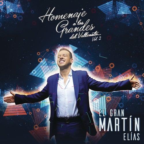 Homenaje a Los Grandes Vol. 2 de El Gran Martín Elías