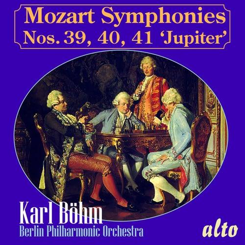 MOZART: Symphonies Nos. 39, 40, 41 'Jupiter' von Berlin Philharmonic Orchestra