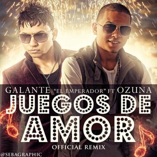 Juegos de Amor (Remix) [feat. Galante El Emperador] von Ozuna