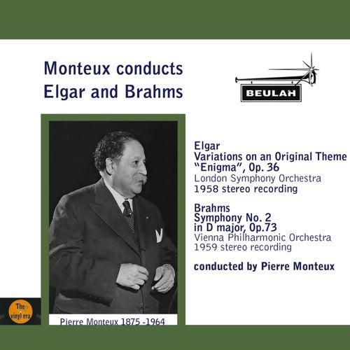 Monteux Conducts Elgar and Brahms de Pierre Monteux