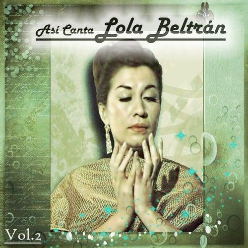 Así Canta Lola Beltrán, Vol. 2 de Lola Beltran