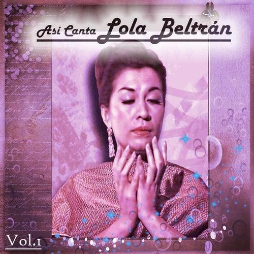 Así Canta Lola Beltrán, Vol. 1 de Lola Beltran