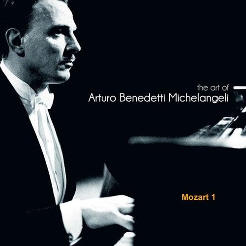 The Art of Arturo Benedetti Michelangeli: Mozart 1 de Arturo Benedetti Michelangeli