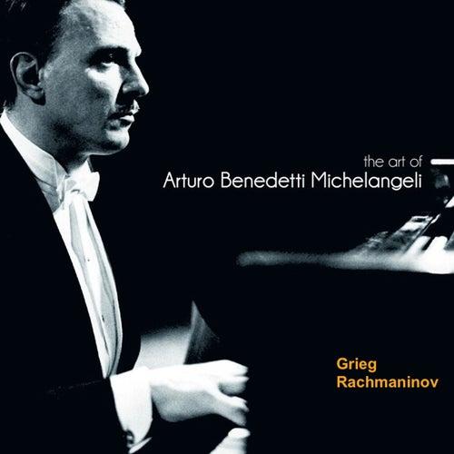 The Art of Arturo Benedetti Michelangeli: Grieg & Rachamaninov de Arturo Benedetti Michelangeli