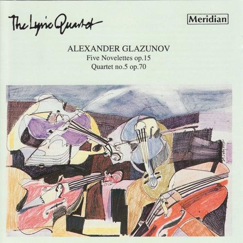 Glazunov: 5 Novelettes - Quartet No. 5 de Lyric Quartet