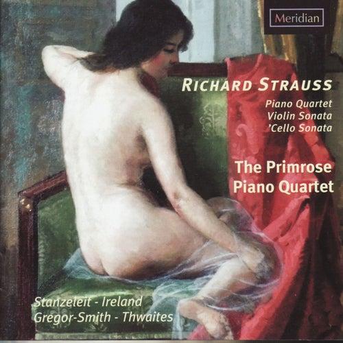 Strauss: Piano Quartet - Violin Sonata - Cello Sonata de The Primrose Piano Quartet