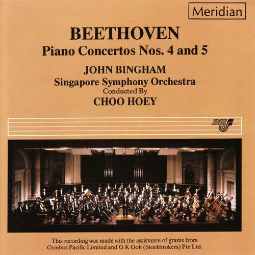 Beethoven: Piano Concertos Nos. 4 & 5 de John Bingham