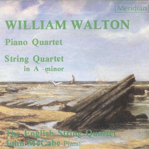 Walton: Piano Quartet / String Quartet de John McCabe