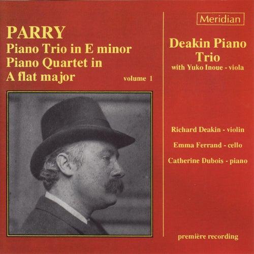 Parry: Piano Trio in E Minor - Piano Quartet in A-Flat Major, Vol. 1 von Yuko Inoue