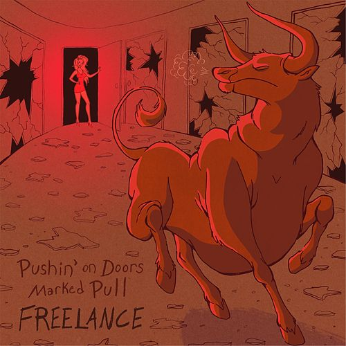 Pushin' on Doors Marked Pull by Freelance