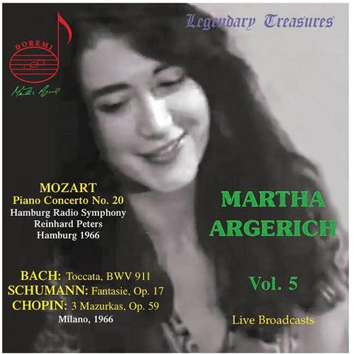 Martha Argerich Live, Vol. 5 by Martha Argerich