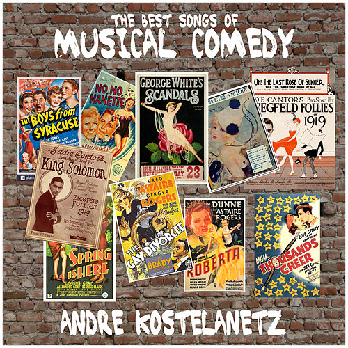 The Best Songs of Musical Comedy de Andre Kostelanetz & His Orchestra