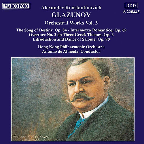 Orchestral Works Vol. 3 de Alexander Glazunov