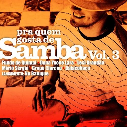 Pra Quem Gosta de Samba, Vol. 3 de Various Artists