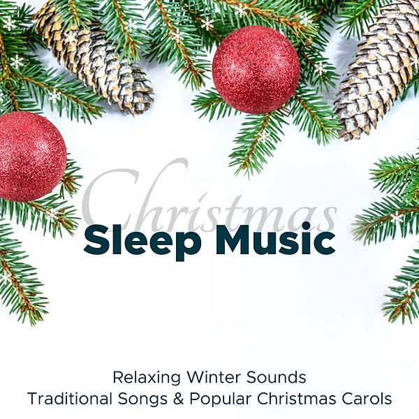 Relaxing Christmas Music.Christmas Sleep Music Relaxing Winter Sounds By